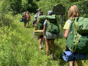 OAC Backpacking Camp