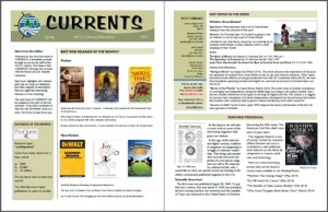 Library Newsletter Spring 2014