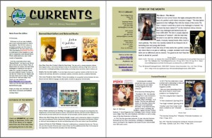 Library Newsletter Sept 2014