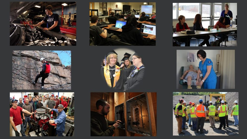 Collage of WCCC Programs