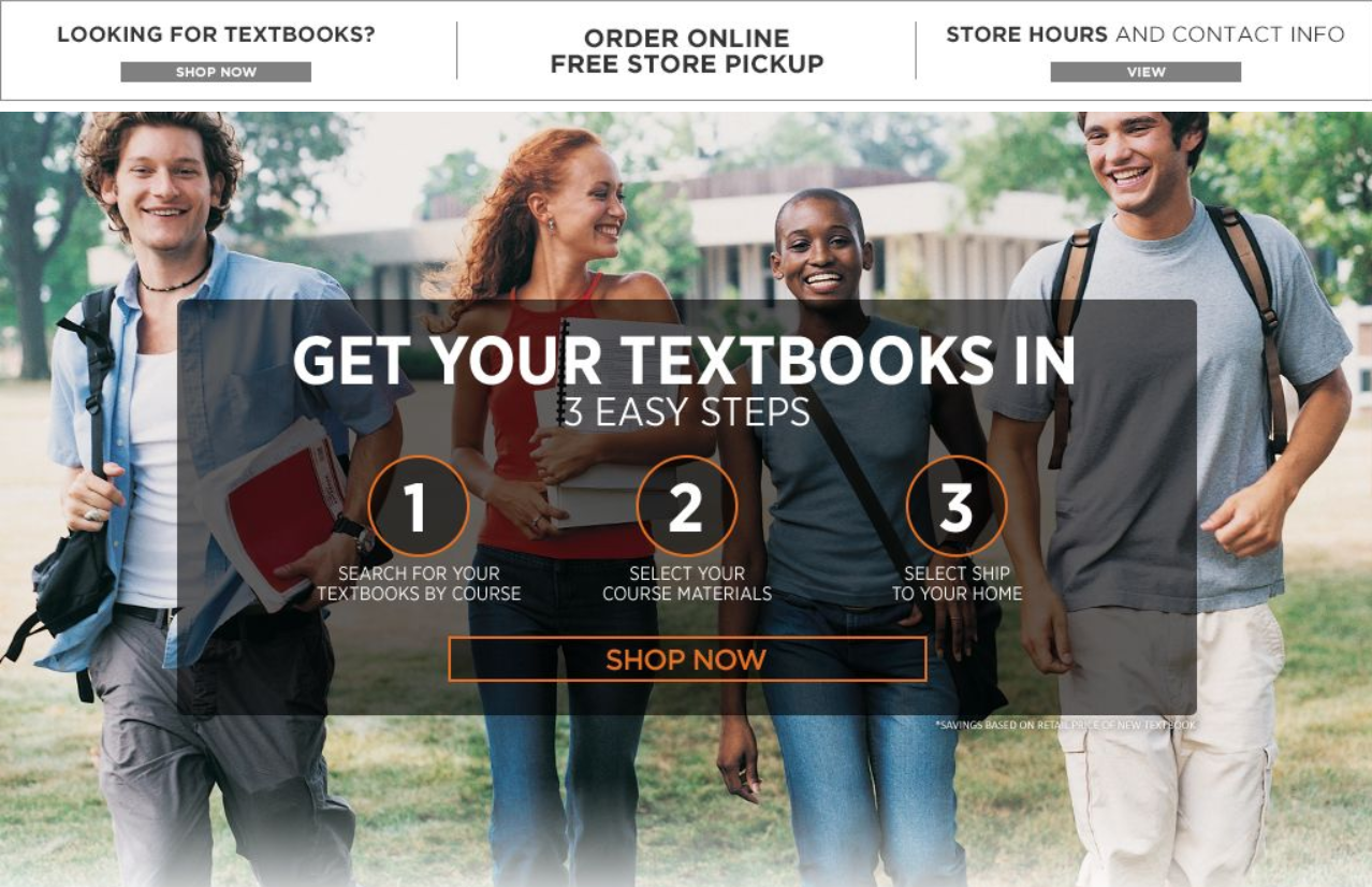 Link to the Campus Store website