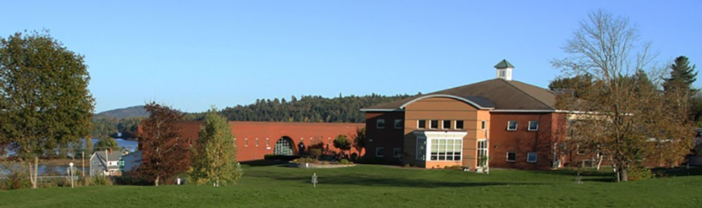 A view of St Croix Hall and Riverview Hall