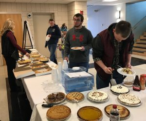 WCCC students enjoying Pi day!